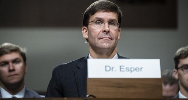 Pentagon nominee Mark Esper calls Turkey's S-400 acquisition 'disappointing'