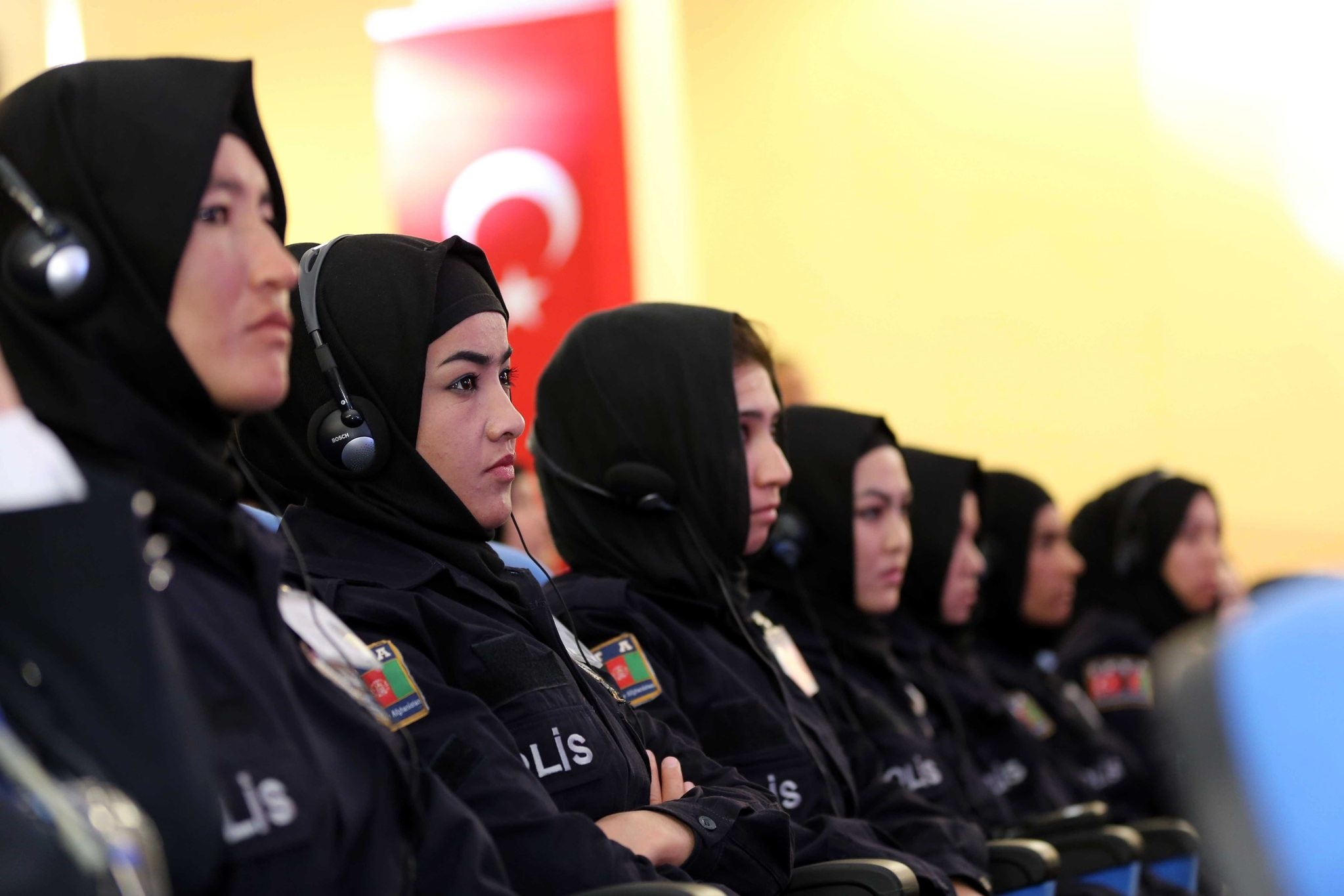 Turkey begins 6th term of training program for Afghan female police cadets in Sivas province. (AA Photo)