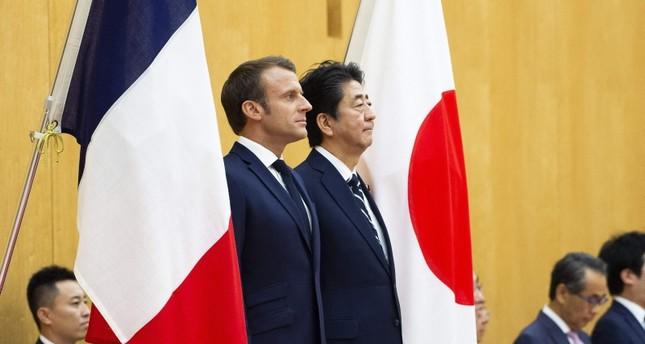 ماكرو ن في اليابان (الفرنسية)