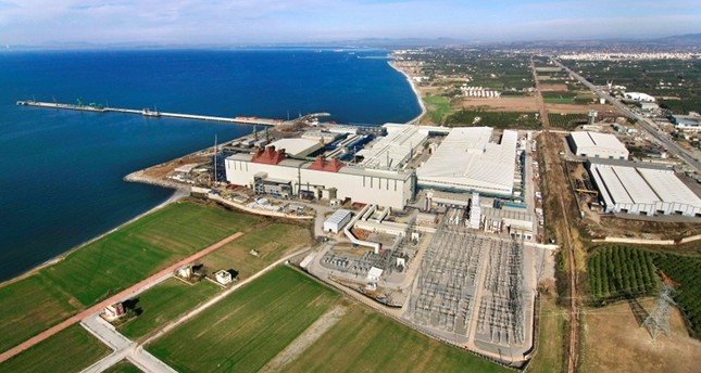 Фабрика ММК в турецком Искендеруне. (Фото из архива)