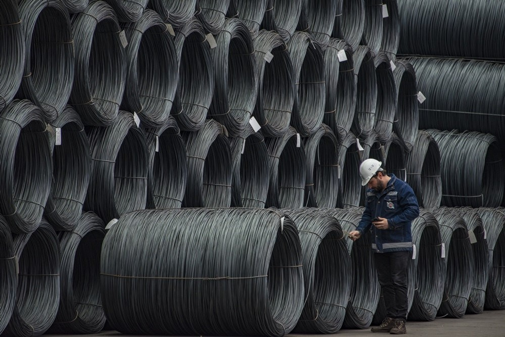 Turkey's steel exports were up by 35.2 percent in the January-October period of this year, reaching $12.4 billion, according to official data.