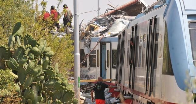 Schweres Zugunglück in Italien - mindestens 20 Tote