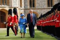 Trump to pay 3-day state visit to Britain in June as Queen Elizabeth's guest