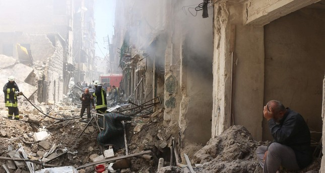 Regime airstrikes hit Syria's Aleppo hours after new truce takes effect