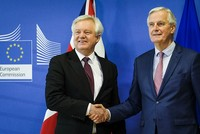 EU, Britain have agreed to 'large part' of Brexit treaty, EU negotiator says