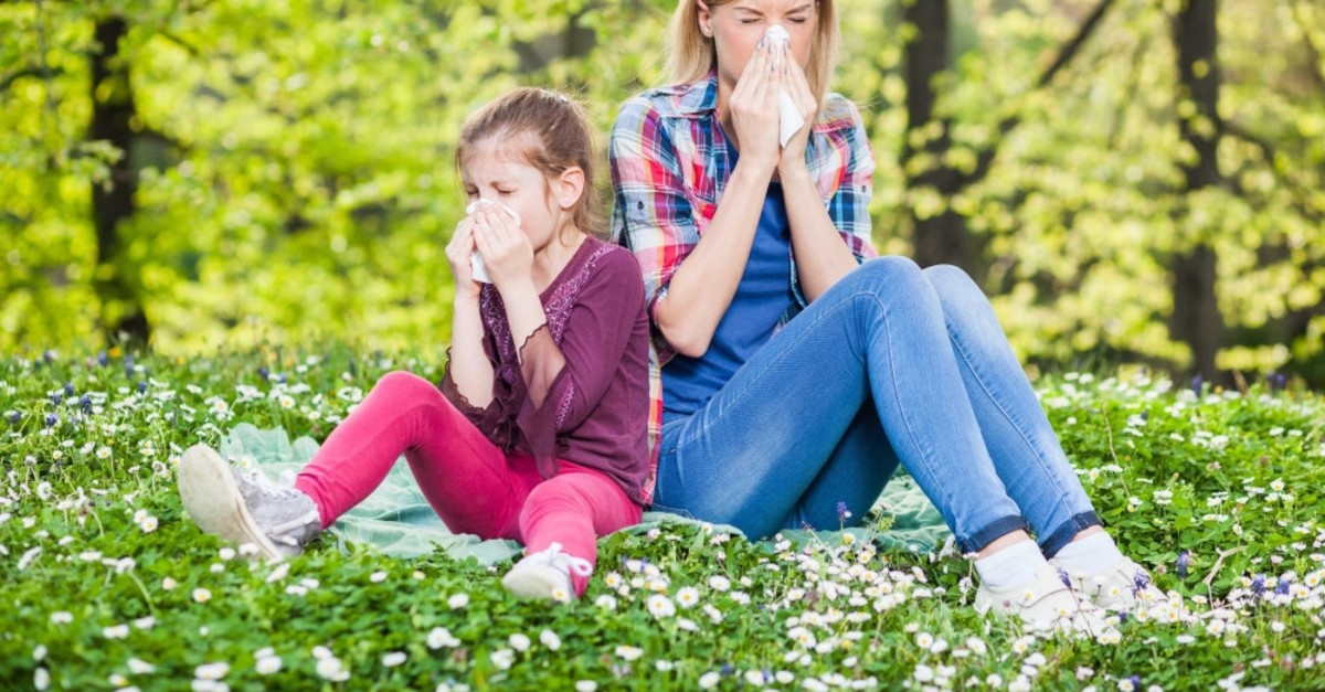 Pollen is the causes of most spring allergies.