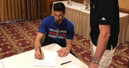 pThe National Basketball Association's (NBA) Philadelphia 76ers have signed a contract with Turkish guard Furkan Korkmaz, the team announced Tuesday./p  pWe are happy to have Furkan Korkmaz join...