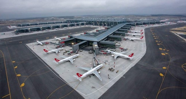 Istanbul Airport welcomed some 52.6 million air passengers in 2019, accounting for 25% of the passengers Turkish airports served last year. DHA Photo