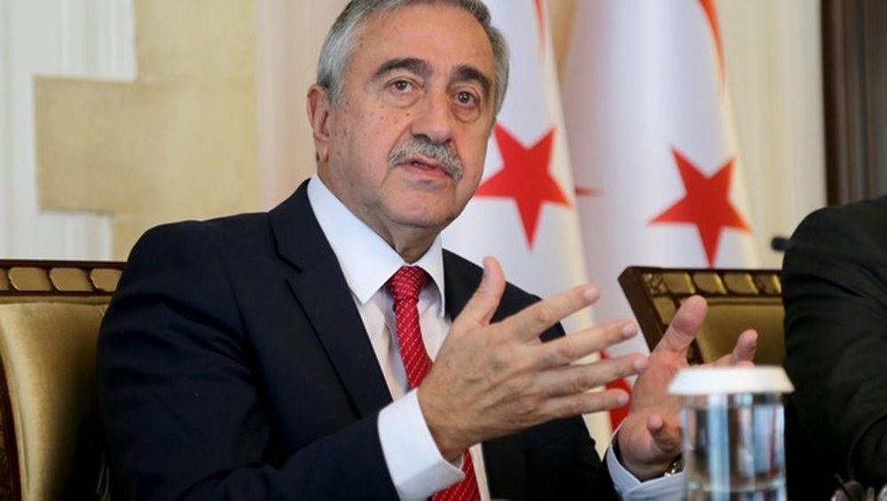 Turkish Cypriot President Mustafa Aku0131ncu0131