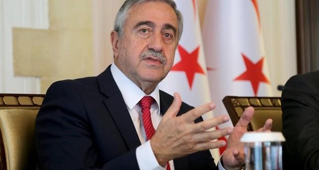 Turkish Cypriot President Mustafa Akıncı