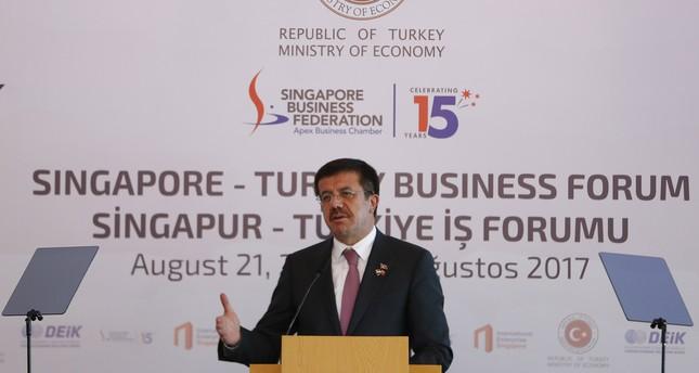 اتفاقية التجارة الحرة بين تركيا وسنغافورة تدخل حيز التنفيذ مطلع أكتوبر