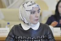 """Ayna Gamzatowa, Ehefrau und Beraterin von Achmad Abdulajew - dem Leiter der """"Geistlichen Verwaltung der Muslime Dagestans"""