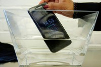 Samsung sued in Australia over water-resistant phone claims