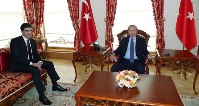 برزاني عقب لقائه بأردوغان: مرحلة جديدة ستنطلق في علاقتنا مع تركيا