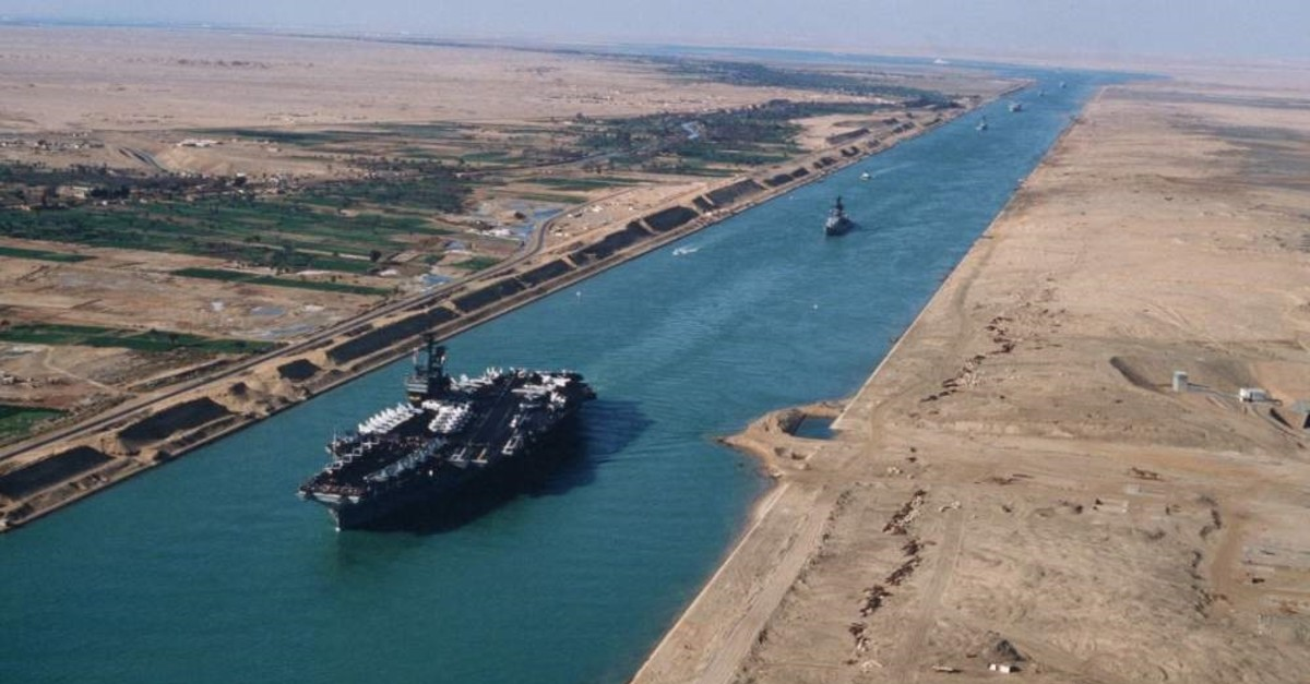 The Suez Canal. (File Photo)