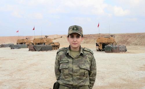 Женщины-офицеры – неотъемлемая часть операции в Африне