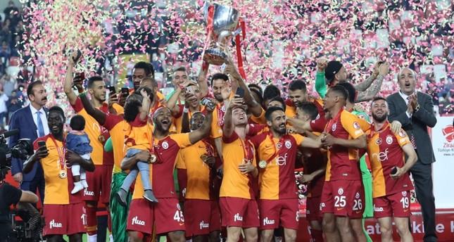 غلاطة سراي يتوج بكأس تركيا للمرة الـ18 في تاريخه