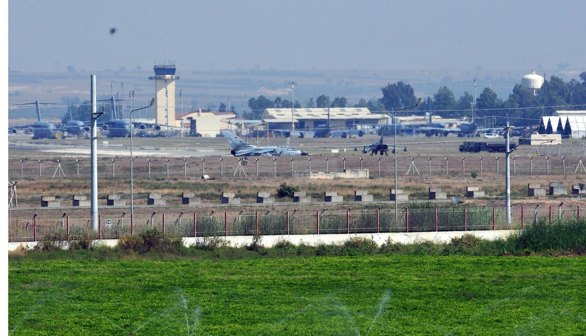 Incirlik Air Base in Adana, Turkey.