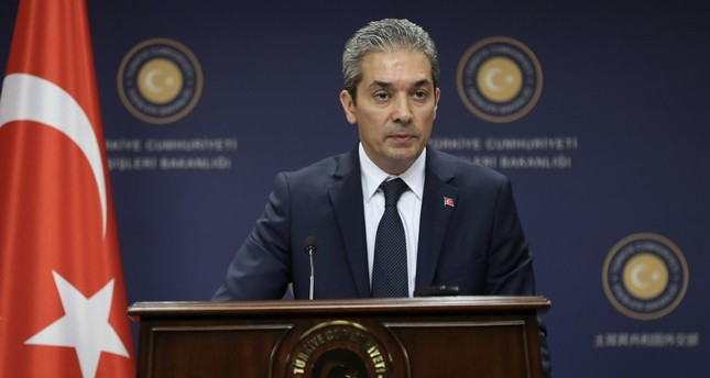 Turkey expects concrete steps from US on YPG: MFA spox