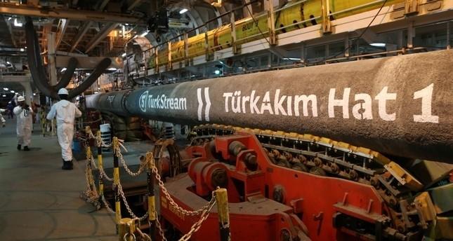 6.7 كم في يوم واحد.. رقم قياسي في مد أنابيب مشروع السيل التركي