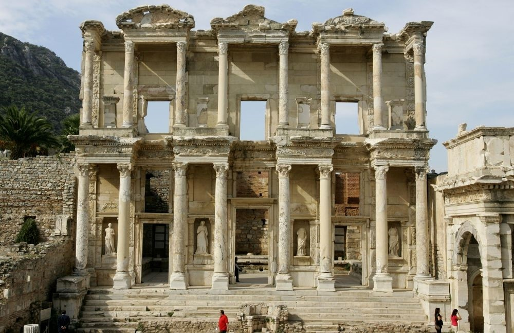 Ephesus in u0130zmir is among the endangered sites.