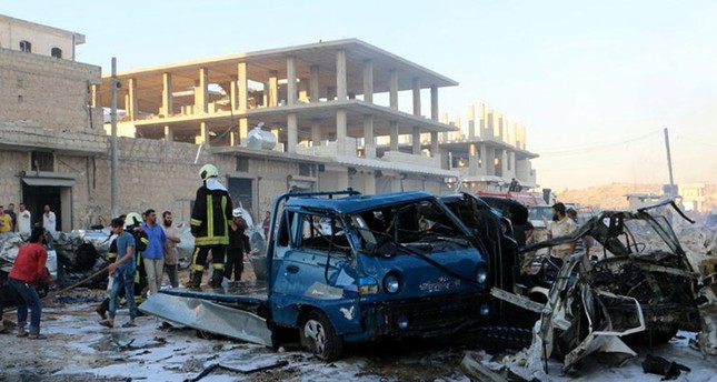 At least 10 killed in bomb explosion in Syria's Idlib