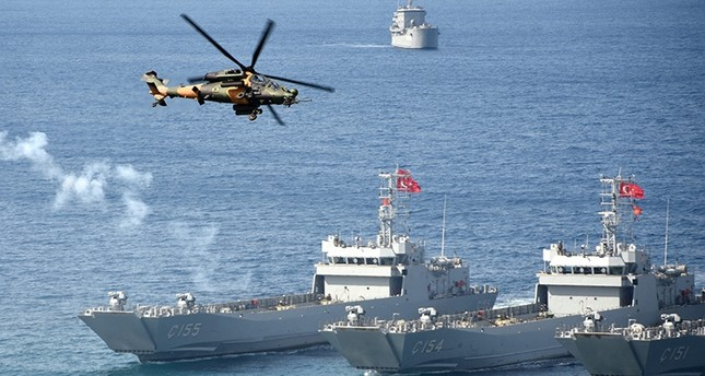 تركيا تستضيف مناورات الحوت الأزرق العسكرية في شرق البحر المتوسط