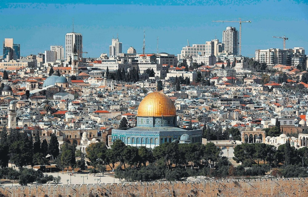 The international community says Jerusalem's status must be negotiated between Israelis and Palestinians.