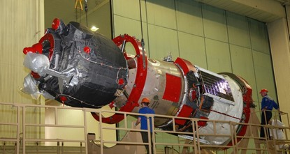 Russian capsule carrying humanoid fails space station docking