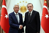 Erdoğan meets Council of Europe head Jagland, post-coup attempt atmosphere discussed
