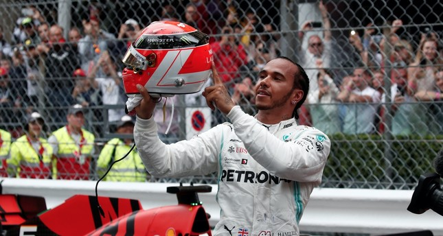 Hamilton holds on to win tense Monaco Grand Prix