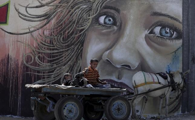 Hidden treasure on the walls of Gaza