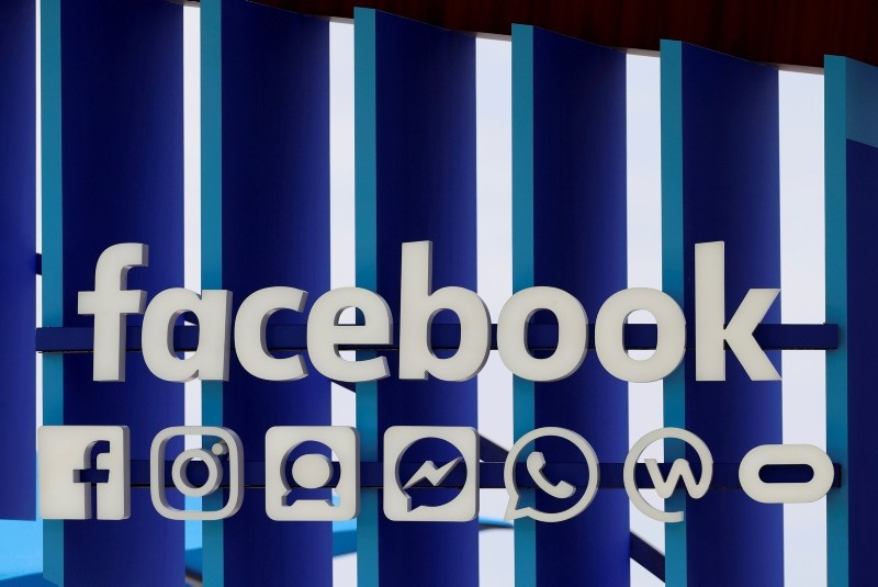 A Facebook panel is seen during the Cannes Lions International Festival of Creativity, in Cannes, France, June 20, 2018. (REUTERS Photo)