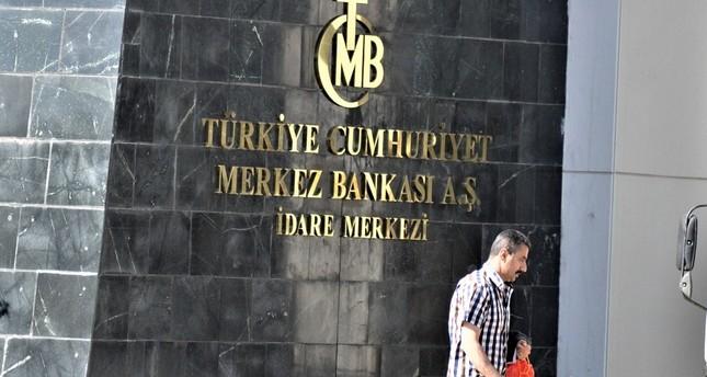 البنك المركزي التركي يزيد أصوله الاحتياطية 1.7 مليار دولار الأسبوع الماضي