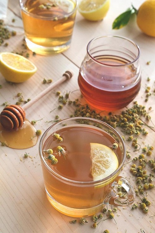 Warm up with a cozy cup of herbal tea this winter