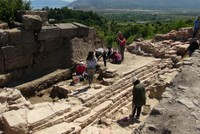Excavations resume in Tieion ancient city in Turkey's Black Sea region