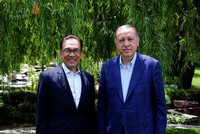 Malaysia's Anwar Ibrahim voices support for 'most popular Muslim leader' Erdoğan