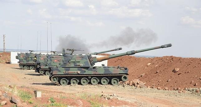 تركيا تقصف جواً وبراً مواقع لداعش وبي كا كا شمالي سوريا والعراق