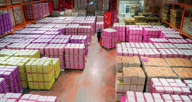 Turkey's egg exports to Iraq amounted to nearly $306.45 million in 2018, 71% of the country's total egg exports.