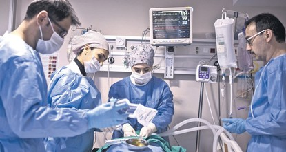 Life as ICU staff Intensive care, maximum effort