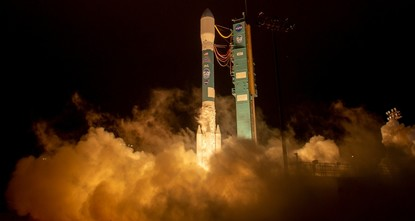 NASA blasts off space laser satellite to measure changes in Earth's ice sheets