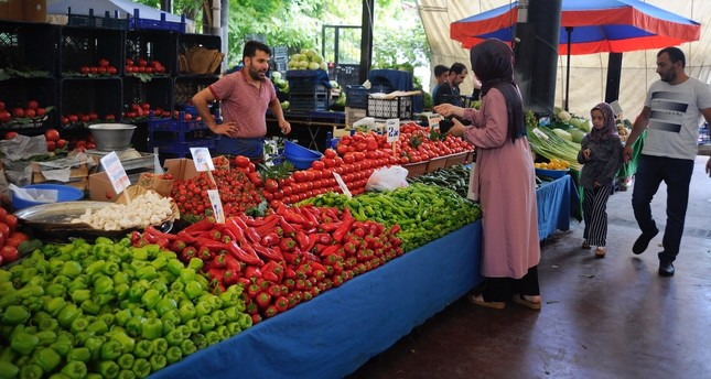 Annual inflation in Turkey rose less than expected to 16.65% in July, up from 15.72% the previous month.