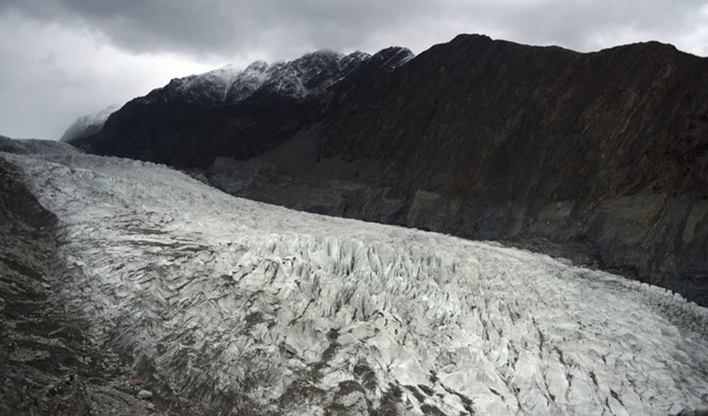 General view of the Passu Glacier in Pakistan.