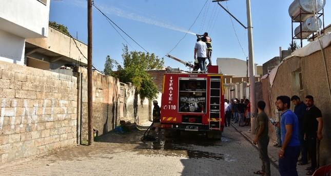 YPG terrorists continue mortar attacks on Turkish border towns