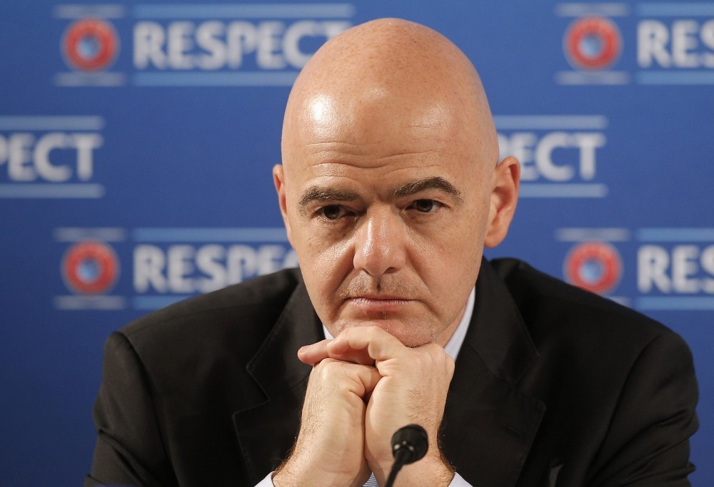 FIFA President Gianni Infantino is trying to convince football clubs for new tournaments.