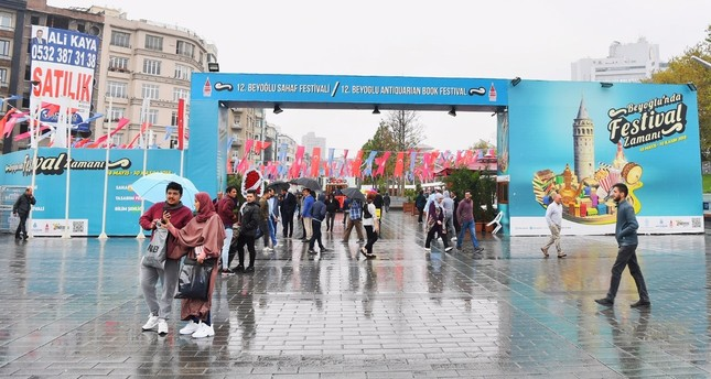 Beyoğlu Secondhand Book Festival welcomes bibliophiles for 12th time