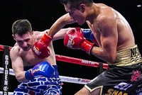 Boxer wearing 'America first,' border wall shorts pummeled 6 rounds by Mexican opponent