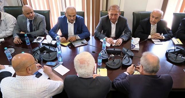 جانب من اجتماعات الرياض رويترز