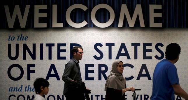 International passengers arrive at Washington Dulles International Airport in Dulles, Virginia, U.S., June 26, 2017. (Reuters Photo)