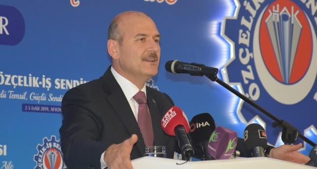 وزير الداخلية التركي: أكثر من 450 ألف طفل سوري ولدوا في بلادنا